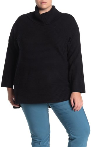 GRACE ELEMENTS Ribbed Cowl Neck Sweater at Nordstrom Rack