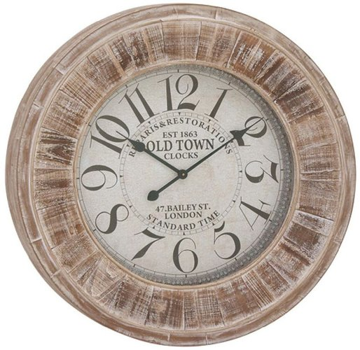 Willow Row Multi Farmhouse Vintage Wall Clock at Nordstrom Rack
