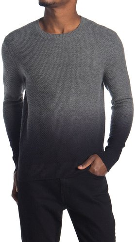 Stewart of Scotland Ombre Textured Wool Blend Sweater at Nordstrom Rack