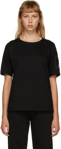 Black Side Pocket T-Shirt