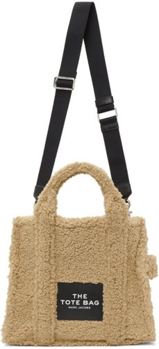 Beige Sherpa The Small Traveler Tote