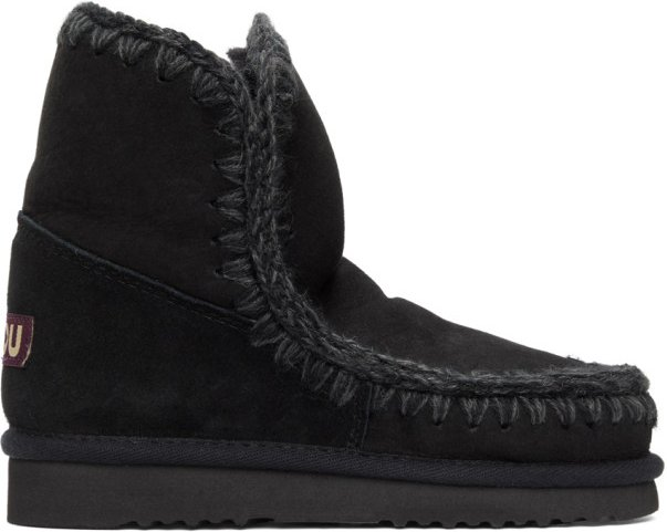 Black 18 Ankle Boots