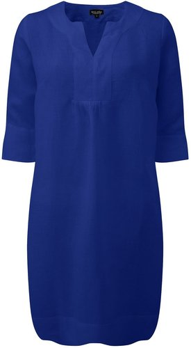 Life Style Easy Tunic Dress - Oxford Blue