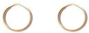 Small Gold Hoops in Yellow Gold