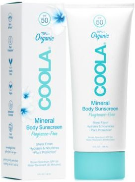 Fragrance-Free Mineral Body Sunscreen Spf 50, 5-oz.