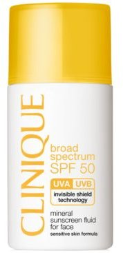 Broad Spectrum Spf 50 Mineral Sunscreen Fluid For Face, 1 oz.