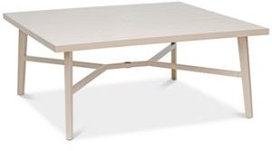 """Closeout! Beach House Aluminum Outdoor 68"""" x 68"""" Table, Created for Macy's"""