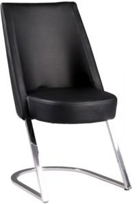 Tami Concave Back Side Chair, Set of 2
