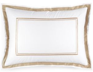 Pair of Embroidered Frame King Shams, Created for Macy's Bedding