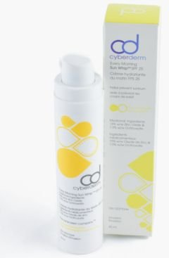 Cyberderm Every Morning Sun Whip Spf 25 - Mineral Sunscreen Lotion for Face, 1.7 Oz