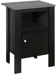 Accent Table - Top Night Stand with Storage