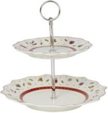 Closeout! Villeroy & Boch Toys Delight Two Tier Tray stand, small