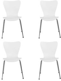 Tendy Pro Stacking Side Chair, Set of 4