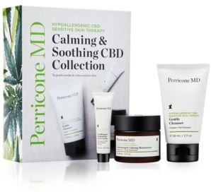 3-Pc. Hypoallergenic Cbd Sensitive Skin Therapy Calming & Soothing Cbd Set