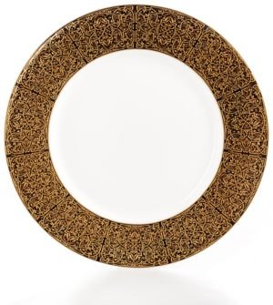 Antonia Gold Appetizer Plate