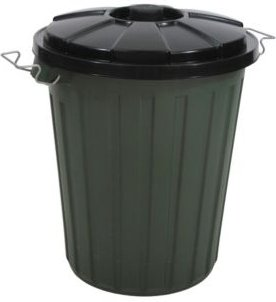 13.2 Gallon Garbage Bin with Latch on Lid