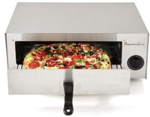 Pizza Oven with 30 Minute Timer and Cool Touch Handle