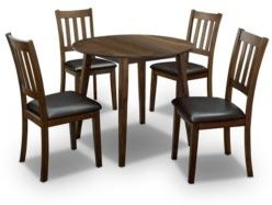 Hedgecrow 5 Piece Round Dining Table Set