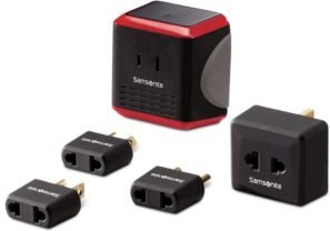 5-Pc. Travel Converter/Adapter Kit with Pouch