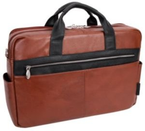 """Southport 17"""" Dual-Compartment Laptop Tablet Briefcase"""