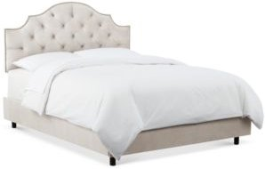 Hillsboro Tufted Notch Nail Button Bed - Full