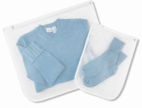 Laundry Delicates Wash Bags, Set of 2 Mesh
