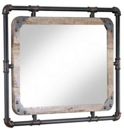 Gee Industrial Wall Mountable Mirror