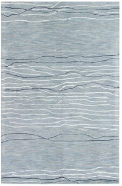"""Closeout! Kenneth Mink Waves 8'6"""" x 11'6"""" Area Rug"""