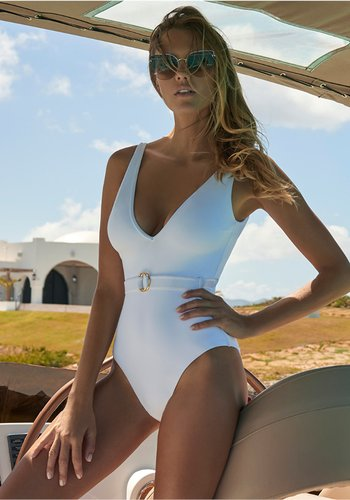 Belize Swimsuit White