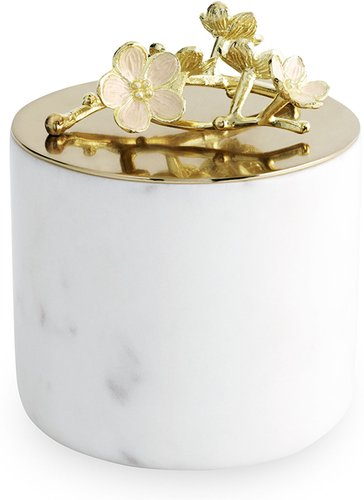 Cherry Blossom Small Luxe Marble Candle