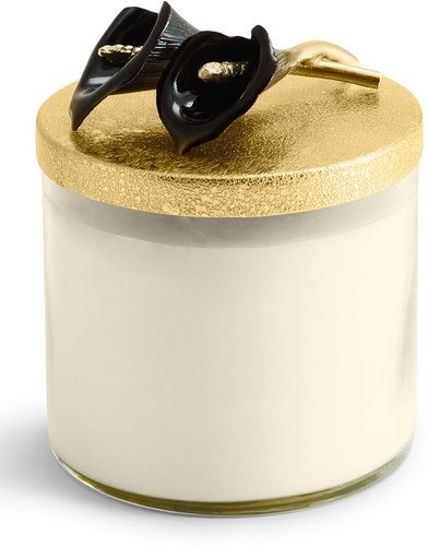 Calla Lily Midnight Candle