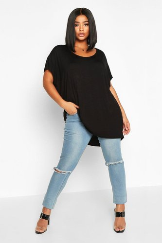 Plus Oversized T-Shirt - black - 12