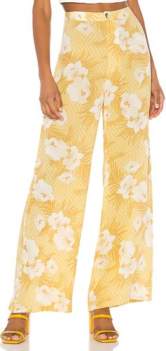 Shady Shack High Waisted Pant in Yellow. - size S (also in XS)
