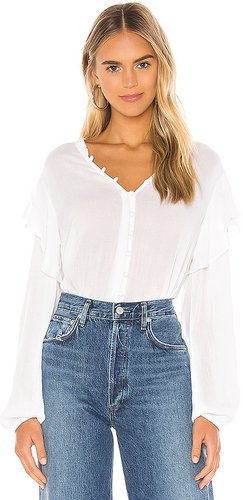 Lana Blouse in White. - size S (also in XS)