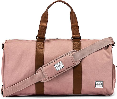 Novel Mid Volume 33L Duffle in Pink.