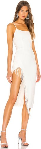 Zarita Midi Dress in White. - size S (also in L,M,XL,XS,XXS)