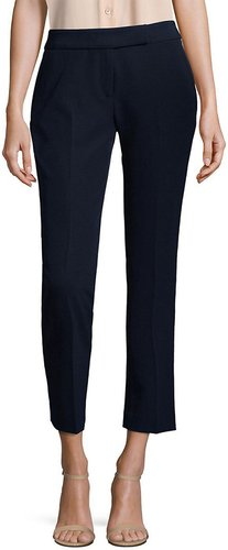 MILLY Cropped Wide-Leg Pant