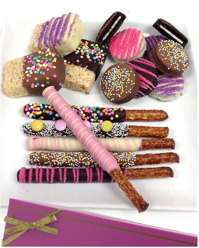 Chocolate Covered Company 15pc Belgian Chocolate Covered Fun Assortment
