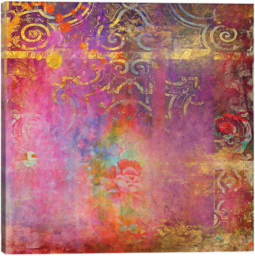 iCanvas Rose Canvas Art Print