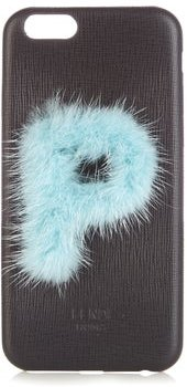 Leather Iphone® 6 Case - Womens - Black Blue