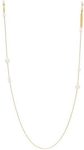 Drop Pearl Yellow Gold-plated Glasses Chain - Womens - Gold Multi