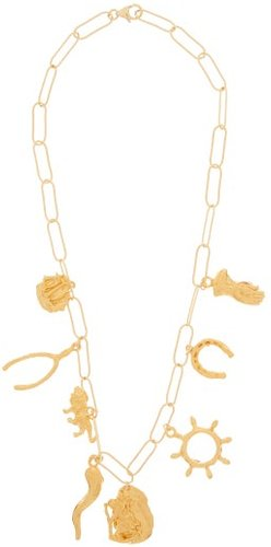 The Traveller, In Pursuit Gold-plated Necklace - Womens - Gold