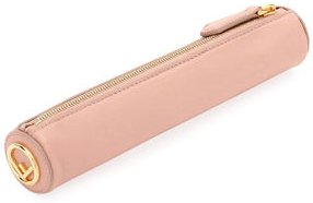 Leather Pencil Case and Ruler Set