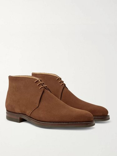 Nathan Suede Chukka Boots - Men - Brown