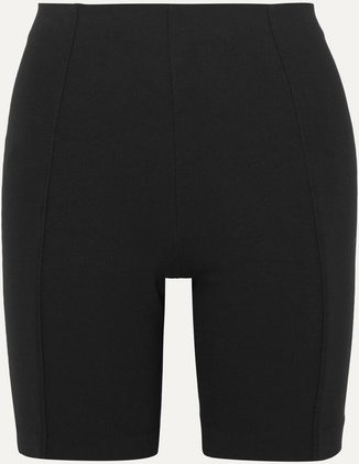 Net Sustain Stretch-jersey Shorts - Black