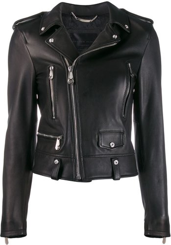 Statement biker jacket - Black