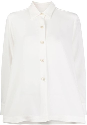 loose fit blouse - White