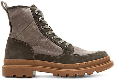 Scout Suede & Canvas Boots - Slate - Size 11.5 M