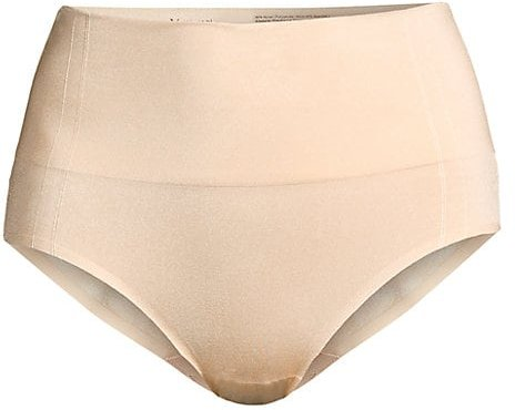 Smooth Series Shaping Briefs - Sand - Size Small