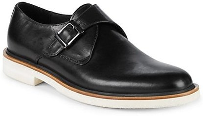 Chance Leather Monk Strap